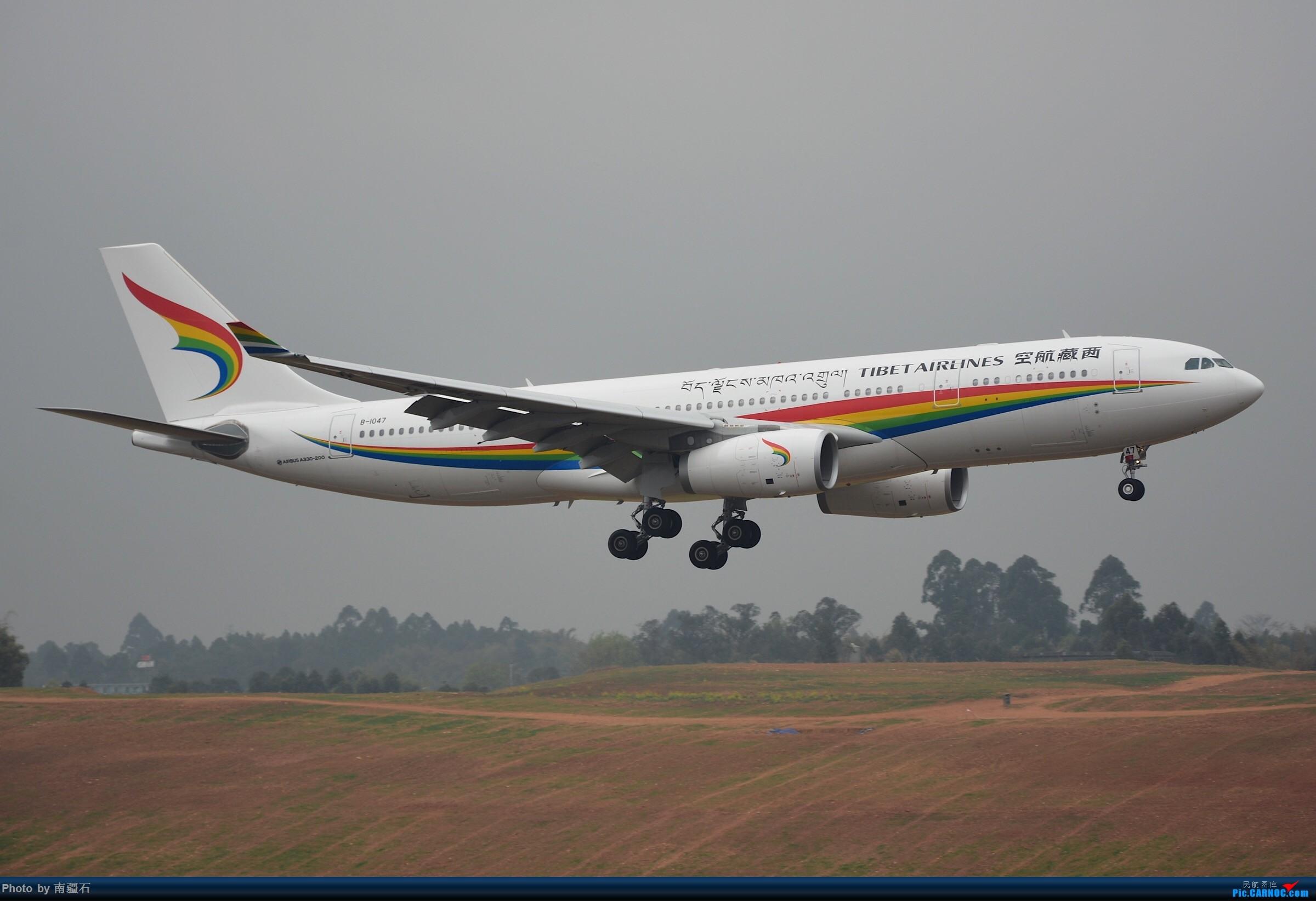 TV最新一只a332 B-1047 AIRBUS A330-200 B-1047 中国成都双流国际机场