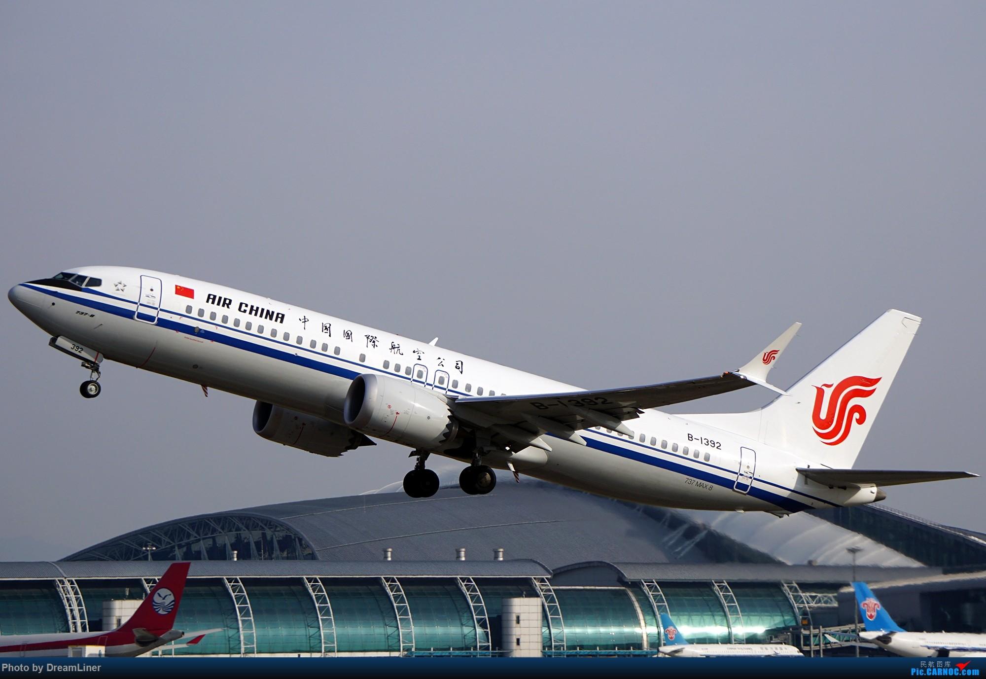 Re:[原创]一组737 BOEING 737MAX-8 B-1392 中国广州白云国际机场