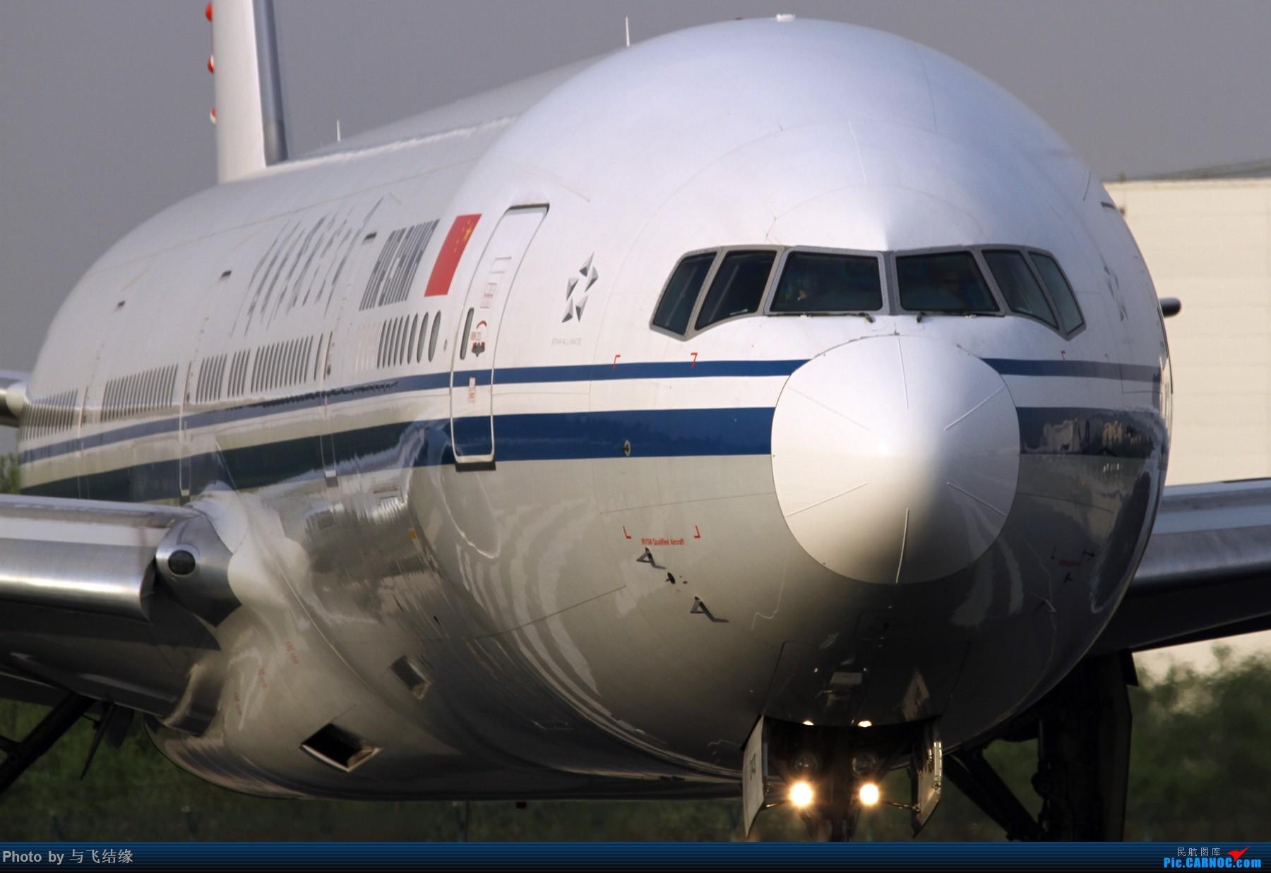 [原创]******鹰杨虎视,雄姿飒爽****** BOEING 777-300ER  中国北京首都国际机场