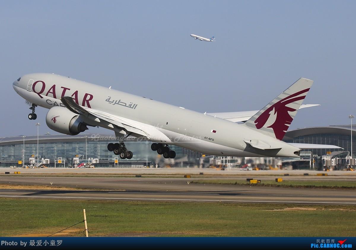 Re:[原创]二月二,龙抬头——组图系列,最近动态 BOEING 777F A7-BFD 中国广州白云国际机场
