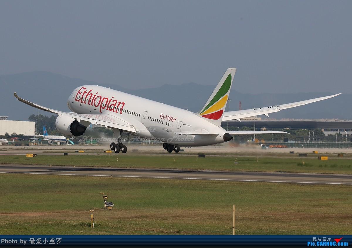 Re:[原创]二月二,龙抬头——组图系列,最近动态 BOEING 787-8 ET-ARE 中国广州白云国际机场