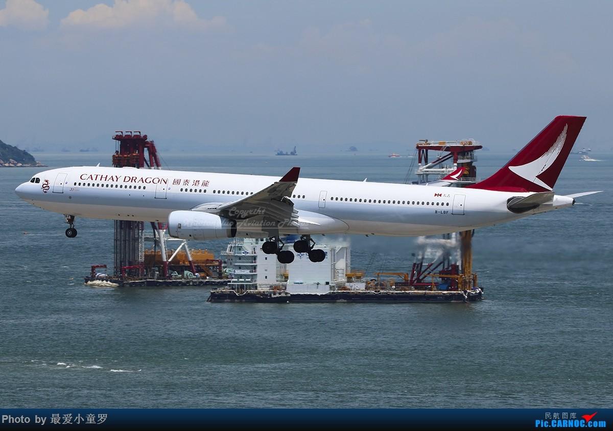 [原创]第2000张——香港国泰港龙A330 AIRBUS A330-300 B-LBF 中国香港国际机场
