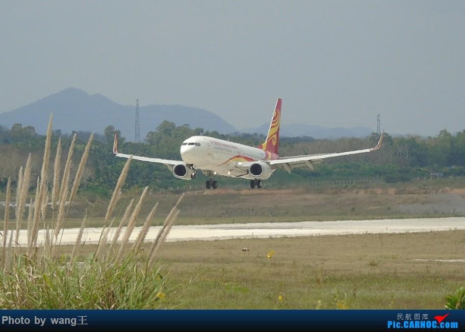 [原创]BAR琼海博鳌拍机(航班少的可怜) BOEING 737-84P(WL) B-1996 中国琼海博鳌国际机场