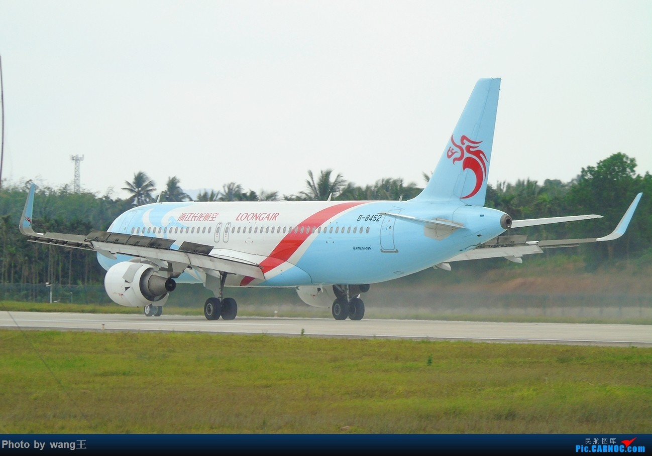 Re:[原创]BAR琼海博鳌拍机(航班少的可怜) AIRBUS A320-214(SL) B-8452 中国琼海博鳌国际机场