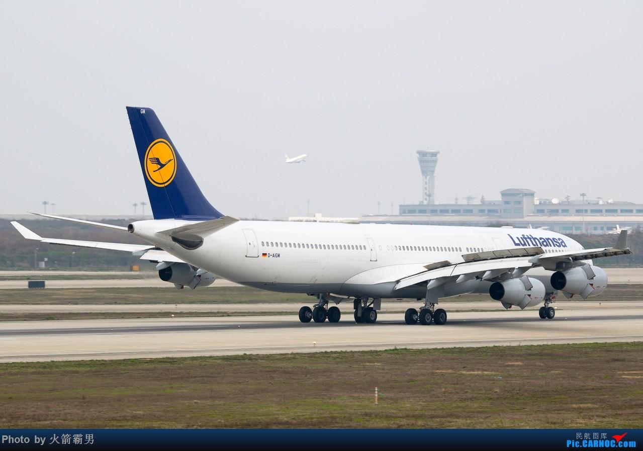 Re:[原创]【Rocketman】NKG的春分日 AIRBUS A340-300 D-AIGM 中国南京禄口国际机场