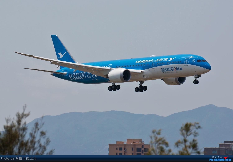 """[原创]【福州飞友会】白鹭""""联合梦想号""""首航FOC BOEING 787-9 B-1356 中国福州长乐国际机场"""
