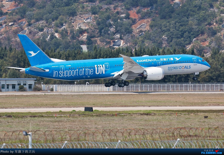 """Re:[原创]【福州飞友会】白鹭""""联合梦想号""""首航FOC BOEING 787-9 B-1356 中国福州长乐国际机场"""