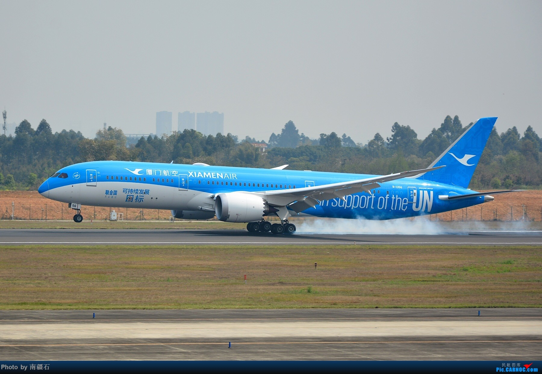 [原创]白鹭航 新彩绘 B-1356 CTU BOEING 787-9 B-1356 中国成都双流国际机场