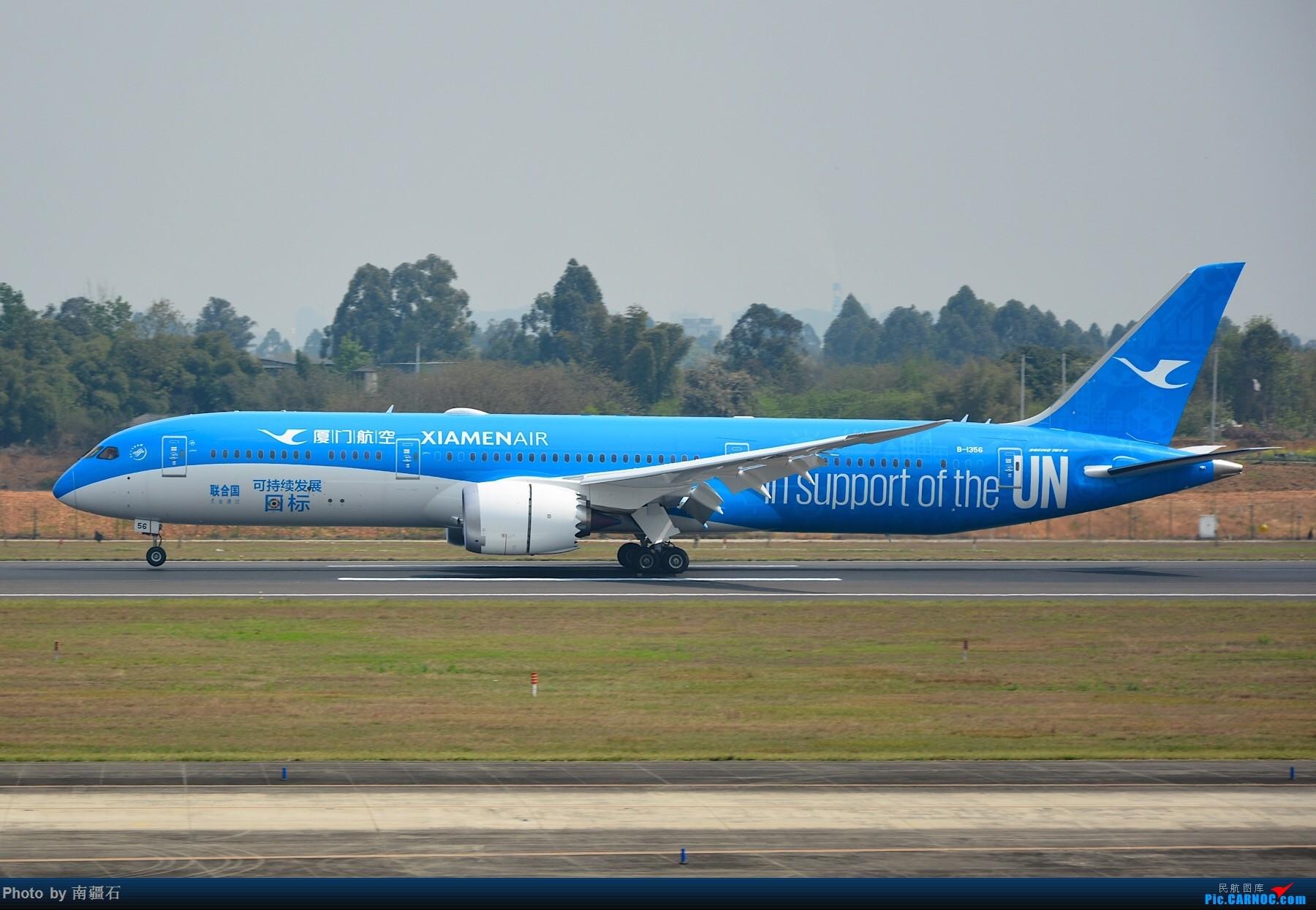 Re:[原创]白鹭航 新彩绘 B-1356 CTU BOEING 787-9 B-1356 中国成都双流国际机场
