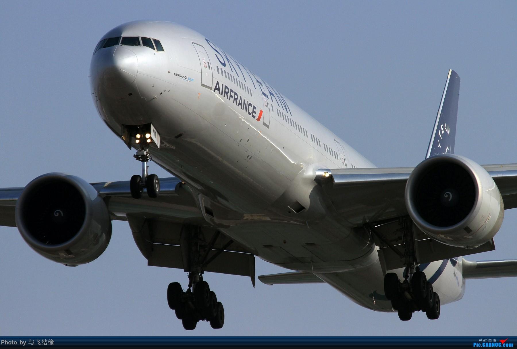 Re:[原创]法国航空公司天合联盟涂装Boeing 777-300ER。 BOEING 777-300ER F-QZNT 中国北京首都国际机场
