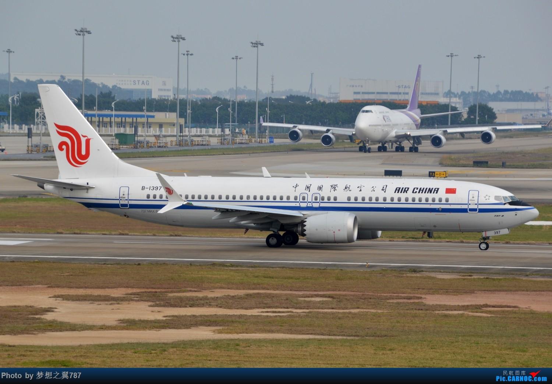 Re:[原创]冒个泡,发些存货 BOEING 737MAX-8 B-1397 中国广州白云国际机场