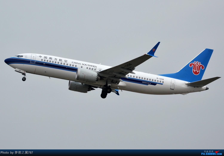 Re:[原创]冒个泡,发些存货 BOEING 737MAX-8 B-1206 中国广州白云国际机场