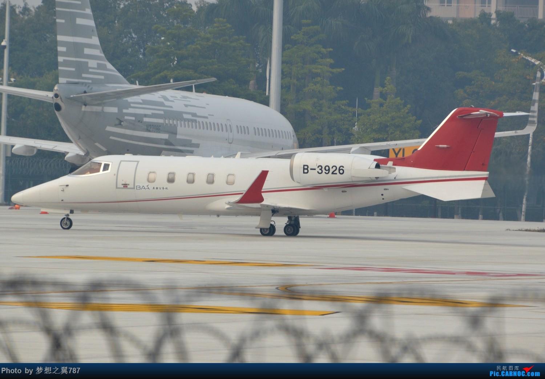 Re:[原创]冒个泡,发些存货 BOMBARDIER LEARJET 60XR B-3926 中国广州白云国际机场