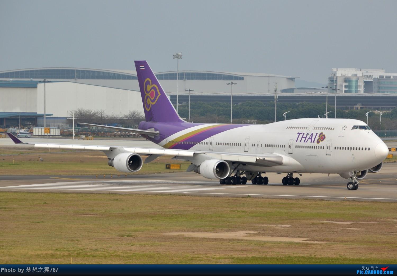 Re:[原创]冒个泡,发些存货 BOEING 747-400 HS-TGP 中国广州白云国际机场