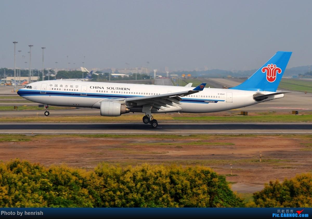 Re:[原创]【肥威的CAN】雾天愚人节·落地·擦烟(伪) AIRBUS A330-200 B-6547 中国广州白云国际机场