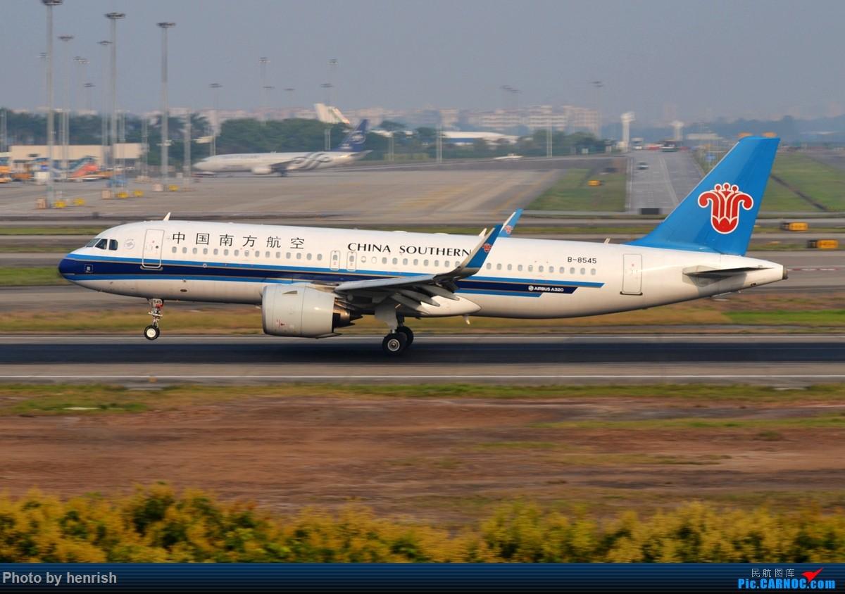 Re:[原创]【肥威的CAN】雾天愚人节·落地·擦烟(伪) AIRBUS A320NEO B-8545 中国广州白云国际机场