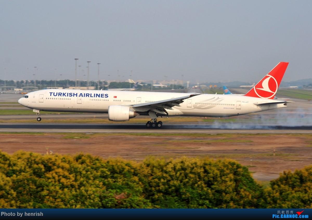 Re:【肥威的CAN】雾天愚人节·落地·擦烟(伪) BOEING 777-300ER TC-JJT 中国广州白云国际机场