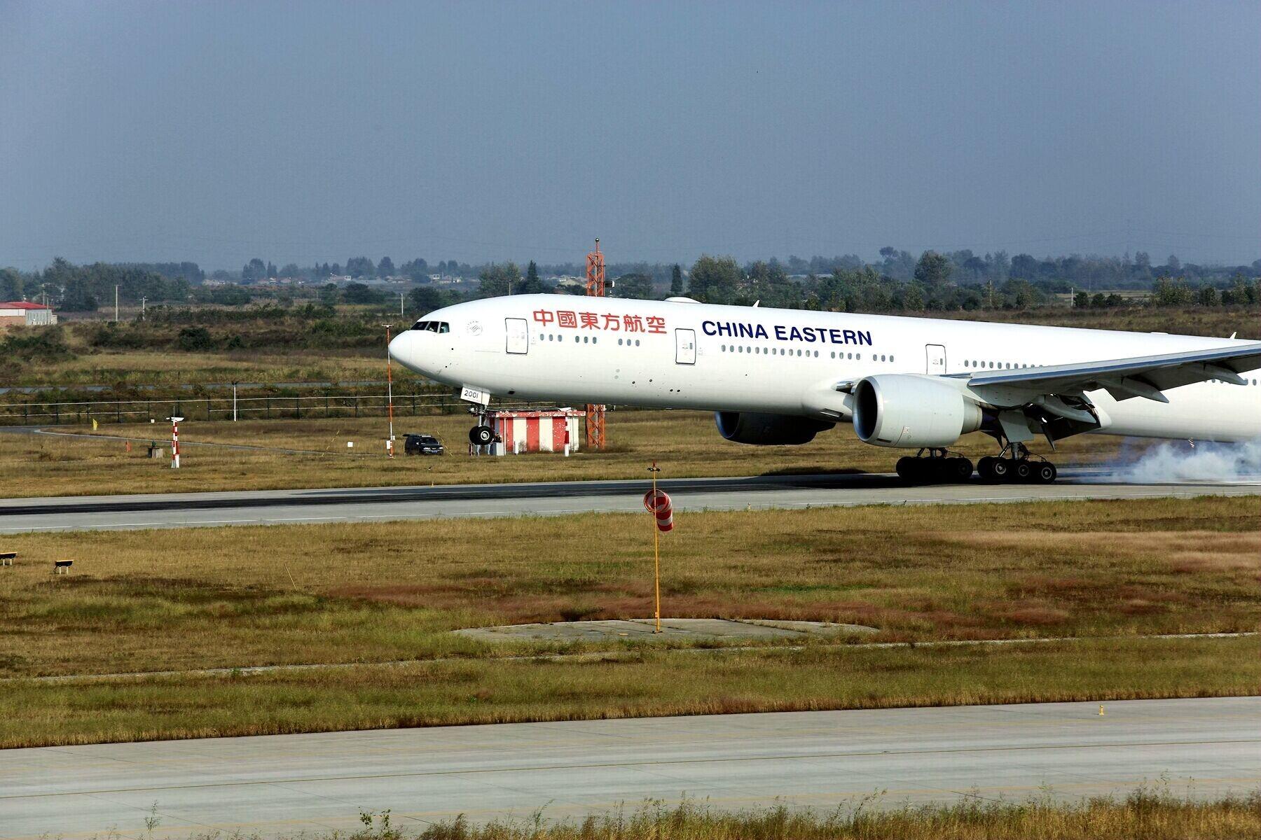 [原创]整理电脑时发现的空客在新桥校飞时照片    中国合肥新桥国际机场