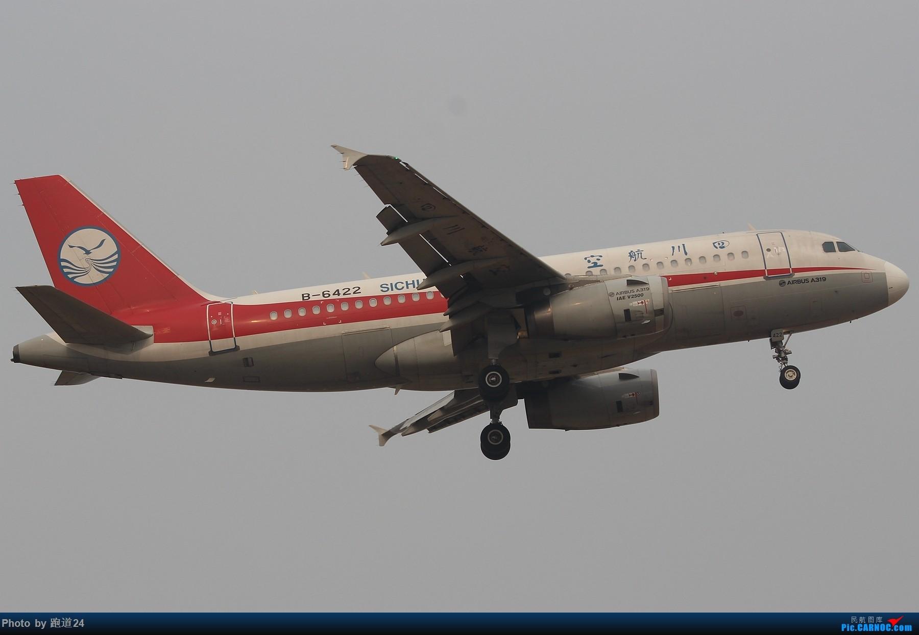 Re:[原创]3月2日CTU拍机[国航748 东方73M 红河水乡等] AIRBUS A319-100 B-6422 中国成都双流国际机场
