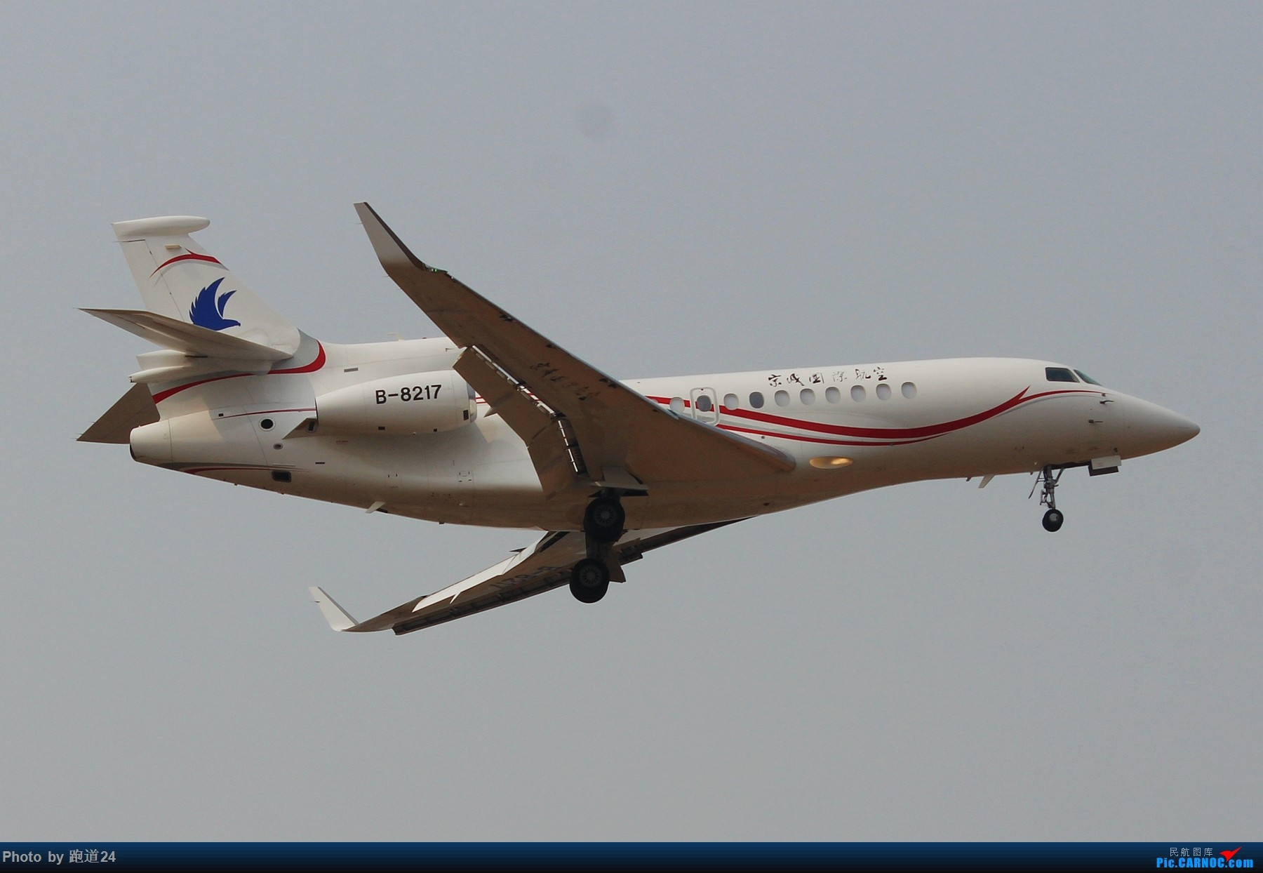 Re:[原创]3月2日CTU拍机[国航748 东方73M 红河水乡等] DASSAULT FALCON 7X B-8217 中国成都双流国际机场
