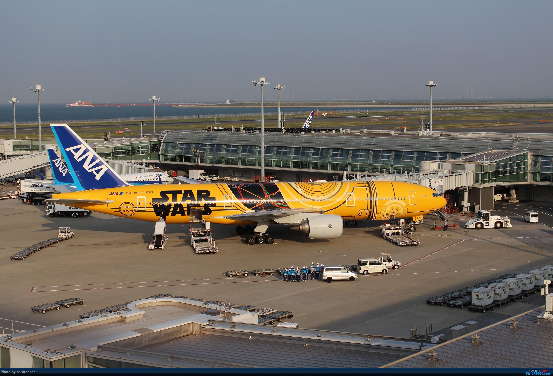 Re:迟到一年的游记,记第一次出国游 日本10天东航往返+ANA国内线+羽田机场拍机 BOEING 777-200ER JA743A 日本东京羽田国际机场