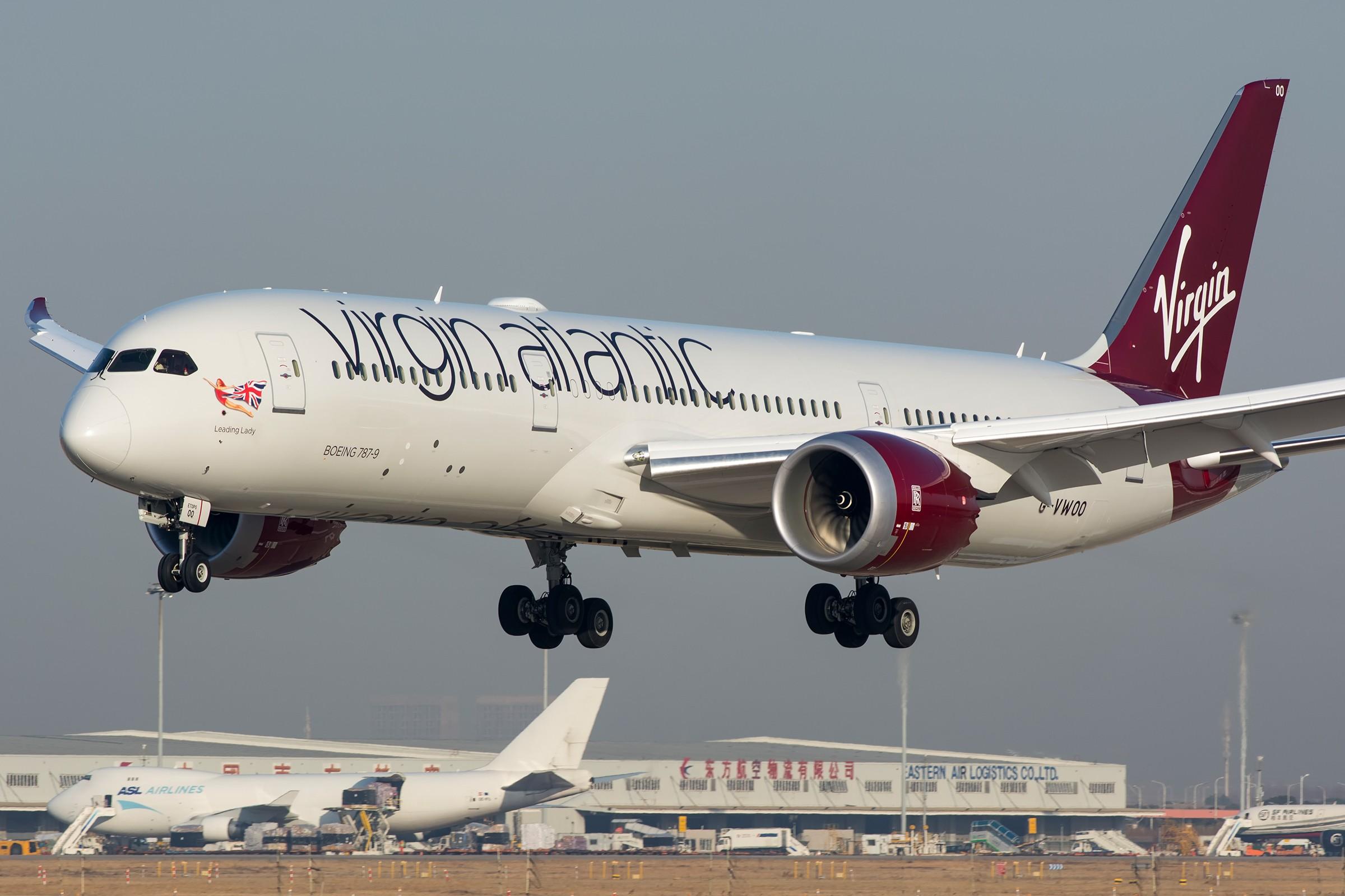 【PVG】求好天 BOEING 787-9 G-VWOO 中国上海浦东国际机场