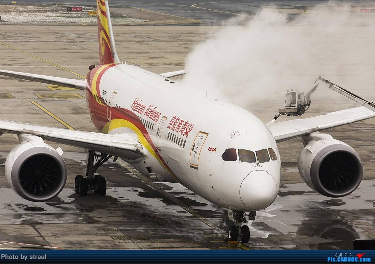 [原创]「多图一机」除冰操作了解一下 BOEING 787-8 B-2750 中国北京首都国际机场