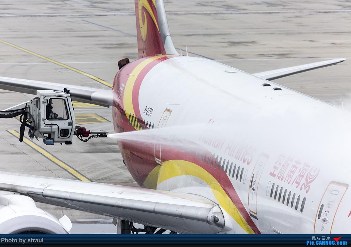 Re:[原创]「多图一机」除冰操作了解一下 BOEING 787-8 B-2750 中国北京首都国际机场
