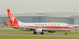 中联航737-800,难得一图,难得修图