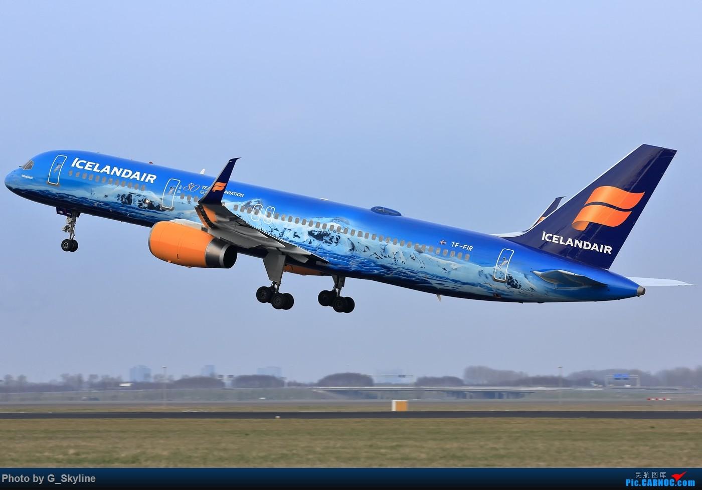 Re:[原创]【AMS】冰岛航空B757 80周年冰山特别涂装 BOEING 757-200 TF-FIR 荷兰阿姆斯特丹史基浦机场