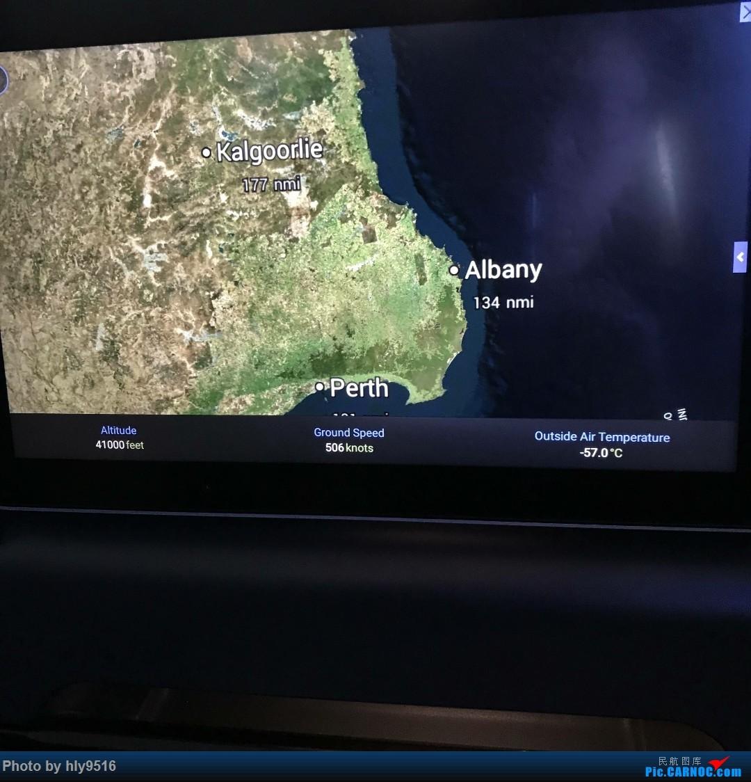 Re:[原创]【PER-MEL】第一次发游记,体验澳航最长航线QF10澳洲国内段 BOEING 787-9 VH-ZNA