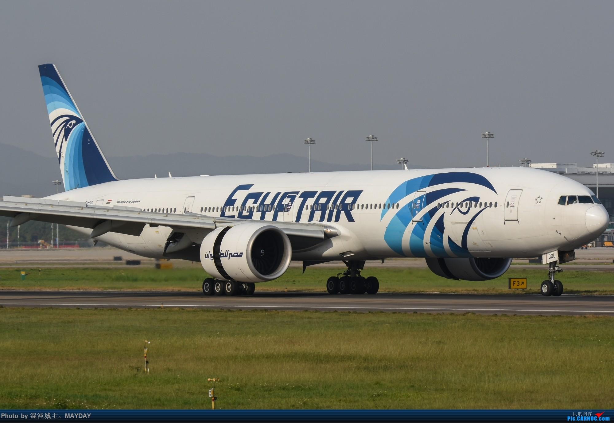 试镜..细节. BOEING 777-300ER SU-GDL 中国广州白云国际机场