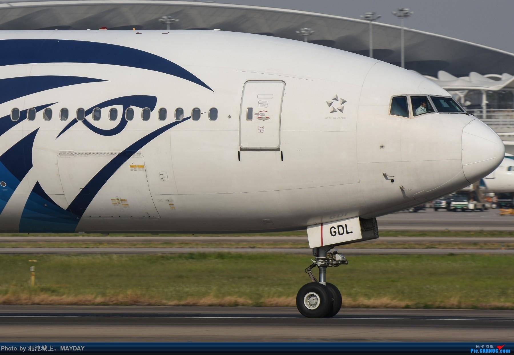Re:[原创]试镜..细节. BOEING 777-300ER SU-GDL 中国广州白云国际机场