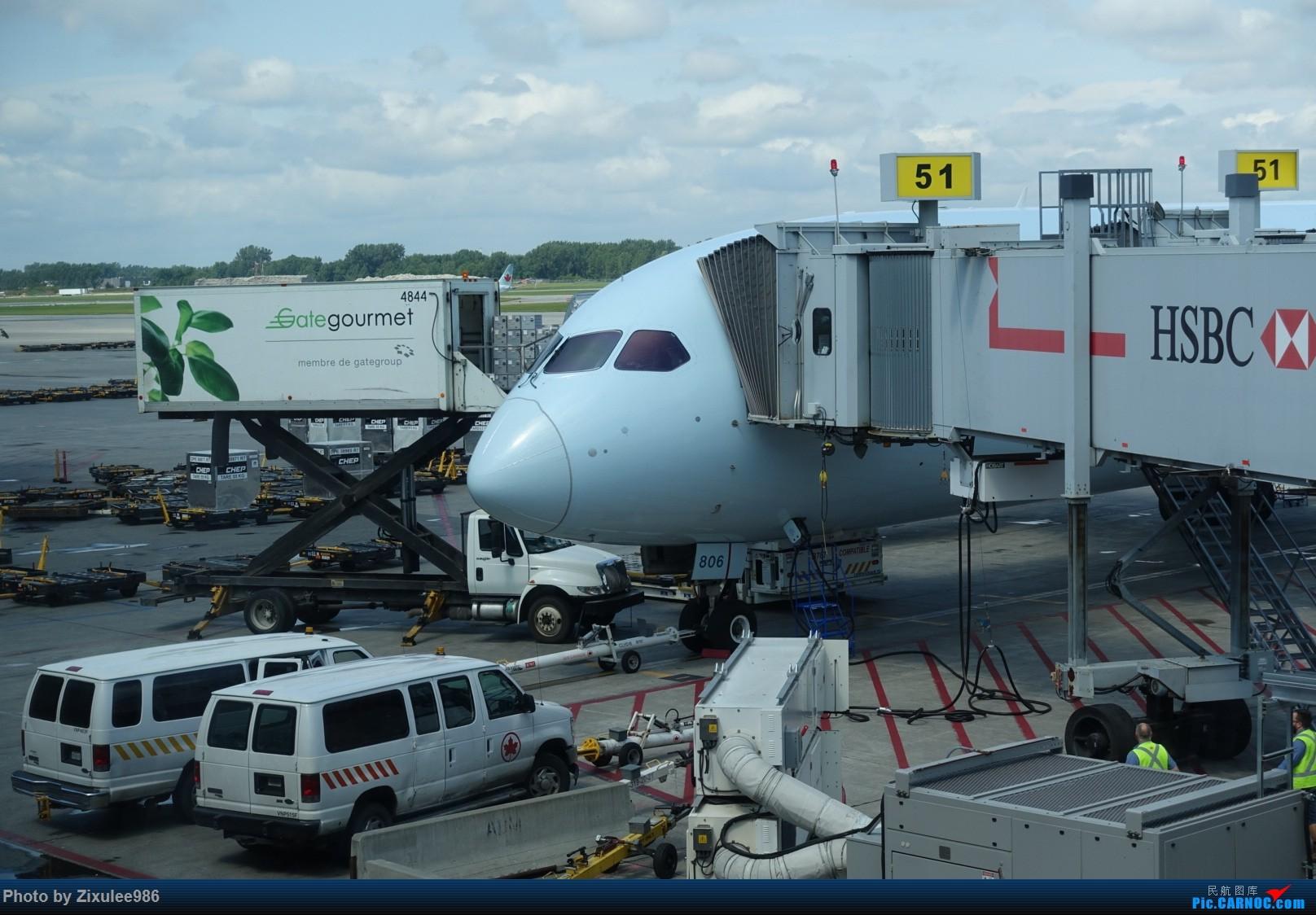 Re:[原创](PVG)AC的墨镜 BOEING 787-8 C-GHPY 加拿大蒙特利尔特鲁多机场