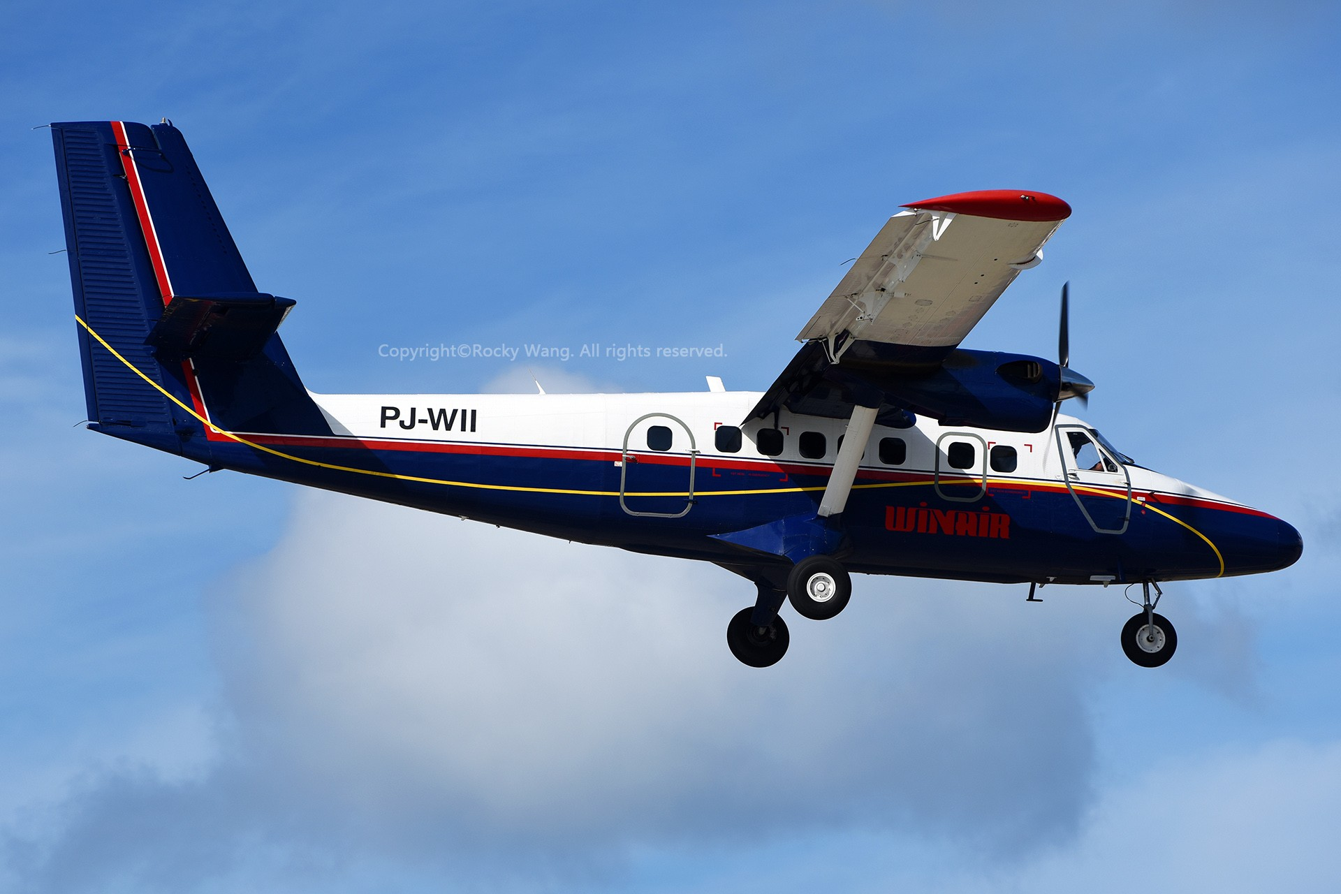 Re:[原创]My endless Caribbean dream——圣马丁朱莉安娜公主机场拍机记 DE HAVILLAND CANADA DHC-6-300 TWIN OTTER PJ-WII 荷属安的列斯群岛朱利安娜公主机场