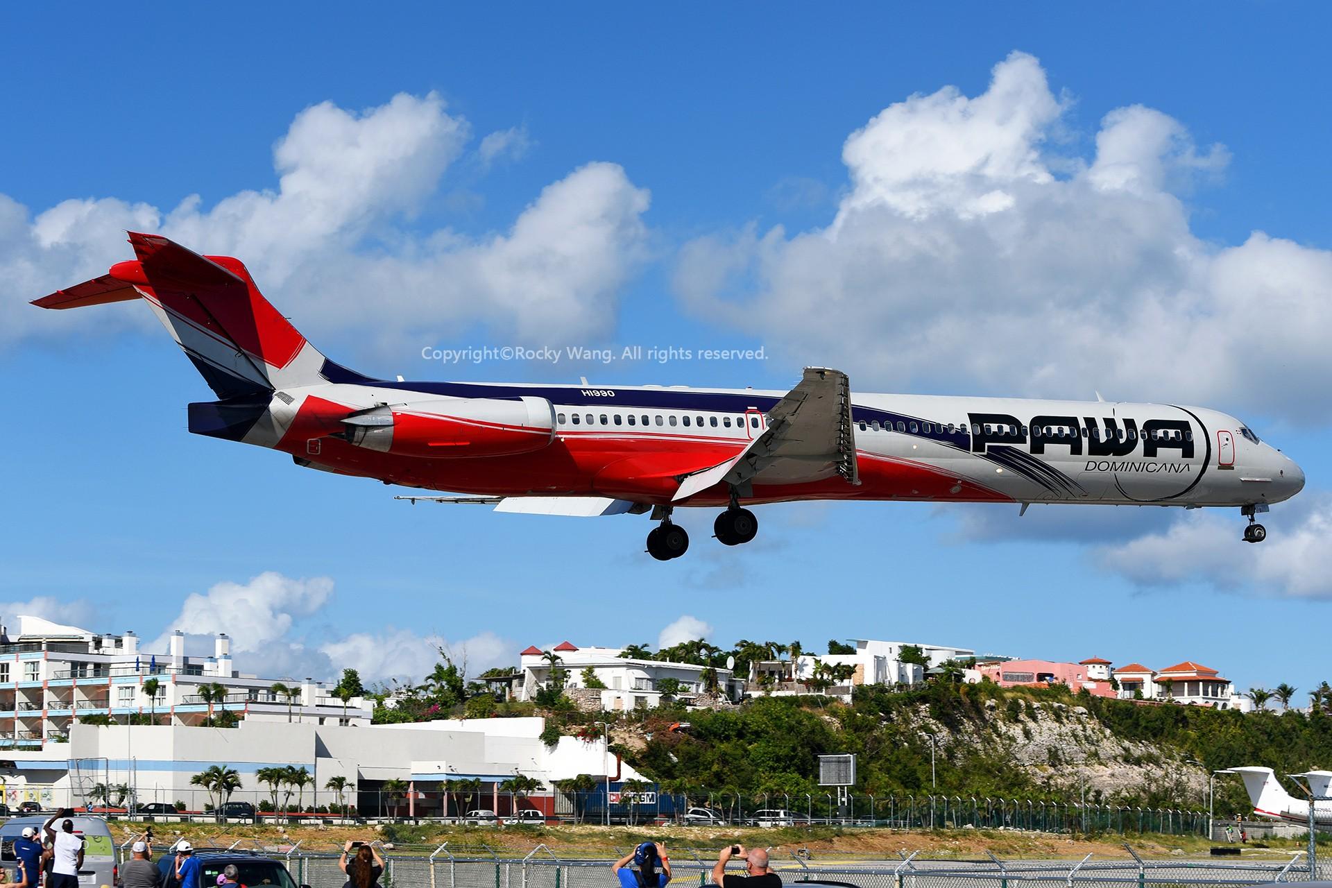 Re:[原创]My endless Caribbean dream——圣马丁朱莉安娜公主机场拍机记 MCDONNELL DOUGLAS MD-83 HI990 荷属安的列斯群岛朱利安娜公主机场