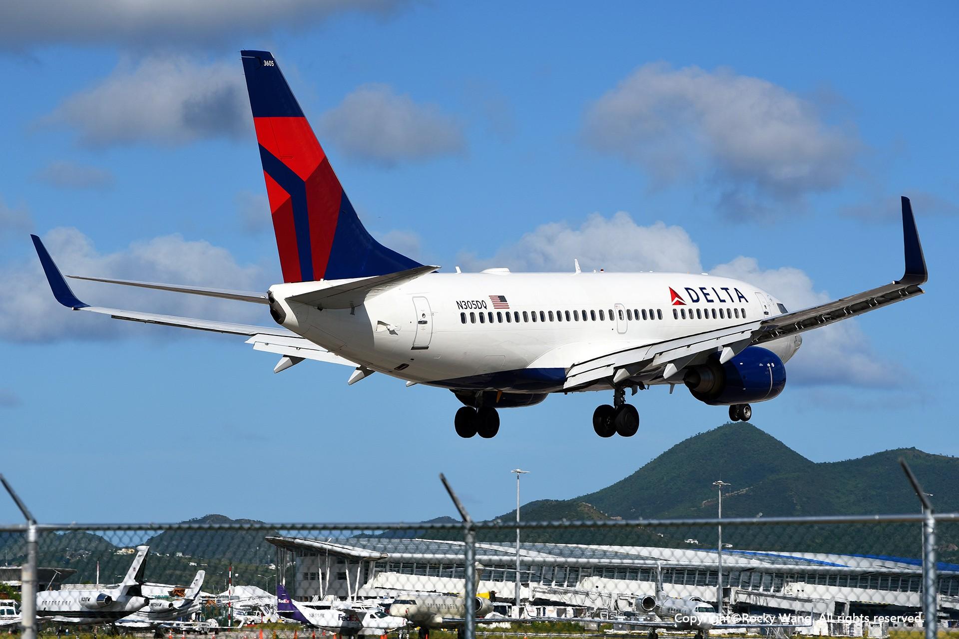 Re:[原创]My endless Caribbean dream——圣马丁朱莉安娜公主机场拍机记 BOEING 737-732 N305DQ 荷属安的列斯群岛朱利安娜公主机场