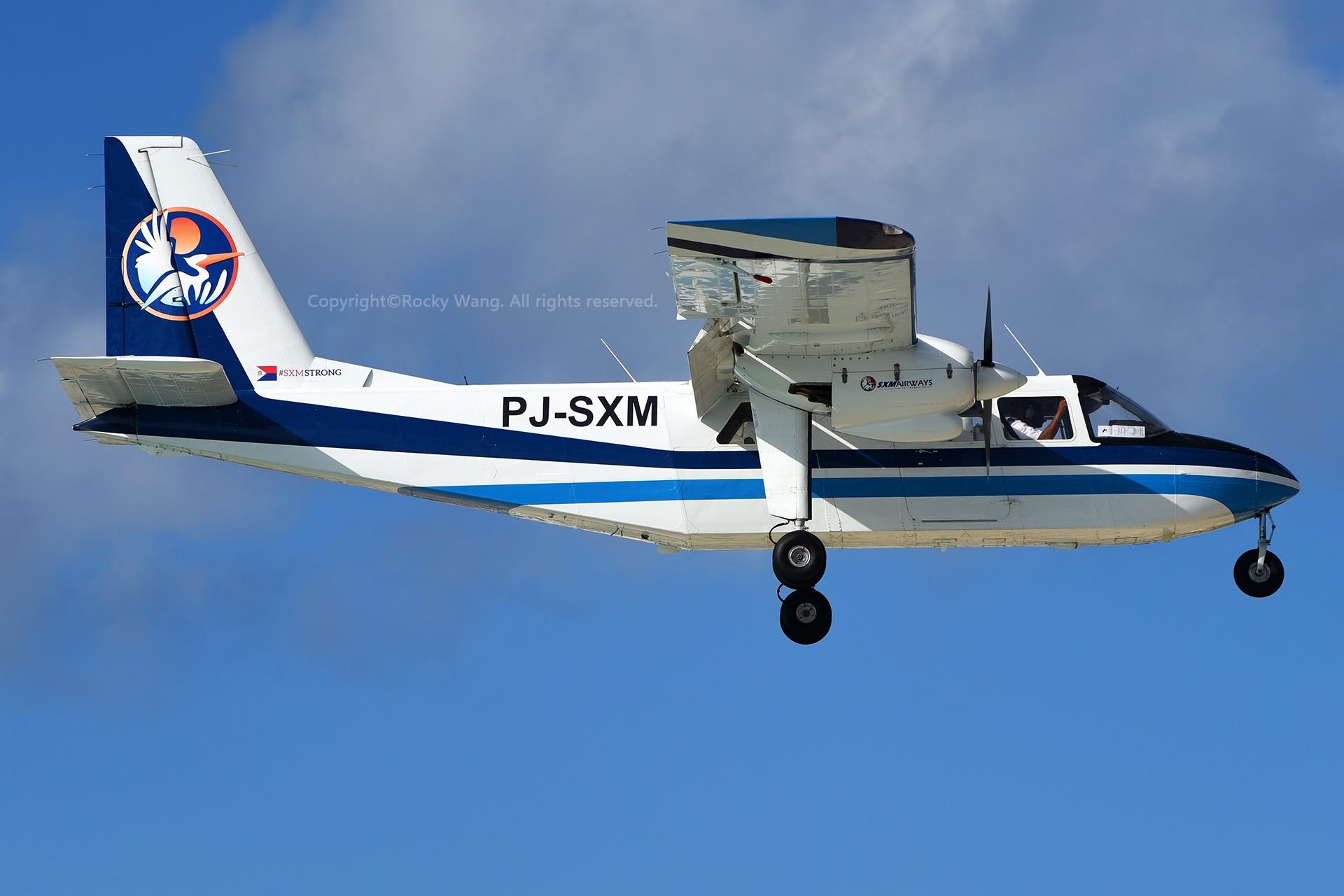Re:[原创]My endless Caribbean dream——圣马丁朱莉安娜公主机场拍机记 BRITTEN-NORMAN BN-2B-20 ISLANDER PJ-SXM 荷属安的列斯群岛朱利安娜公主机场