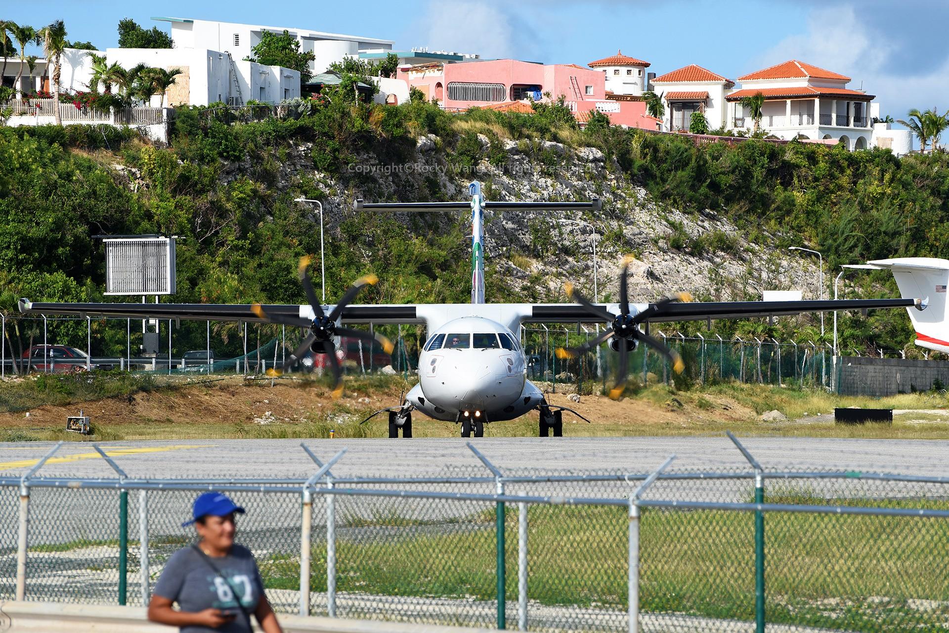Re:[原创]My endless Caribbean dream——圣马丁朱莉安娜公主机场拍机记 ATR 42-500 F-OIXH 荷属安的列斯群岛朱利安娜公主机场