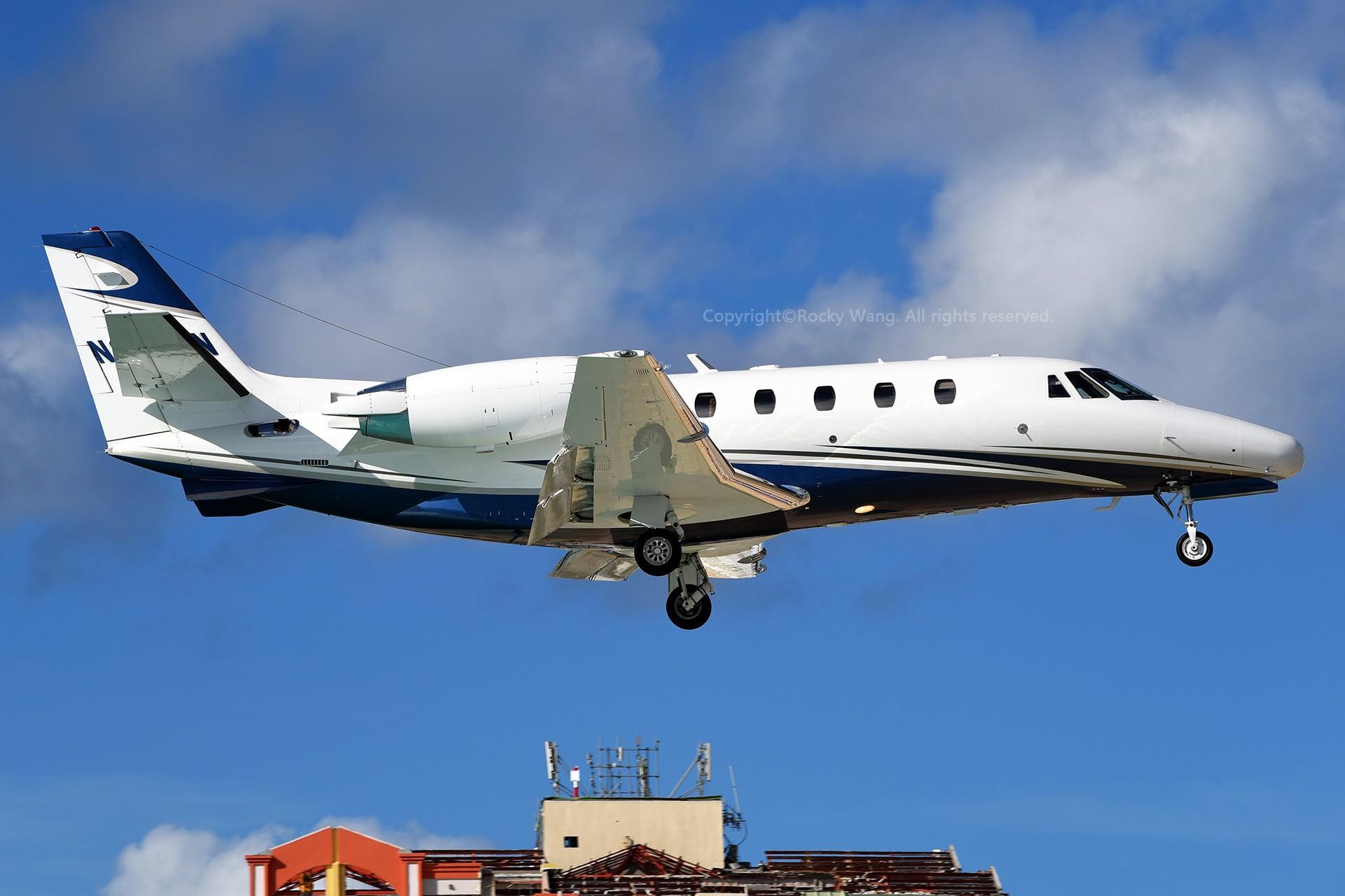 Re:[原创]My endless Caribbean dream——圣马丁朱莉安娜公主机场拍机记 CESSNA 560XL CITATION EXCEL N3750N 荷属安的列斯群岛朱利安娜公主机场
