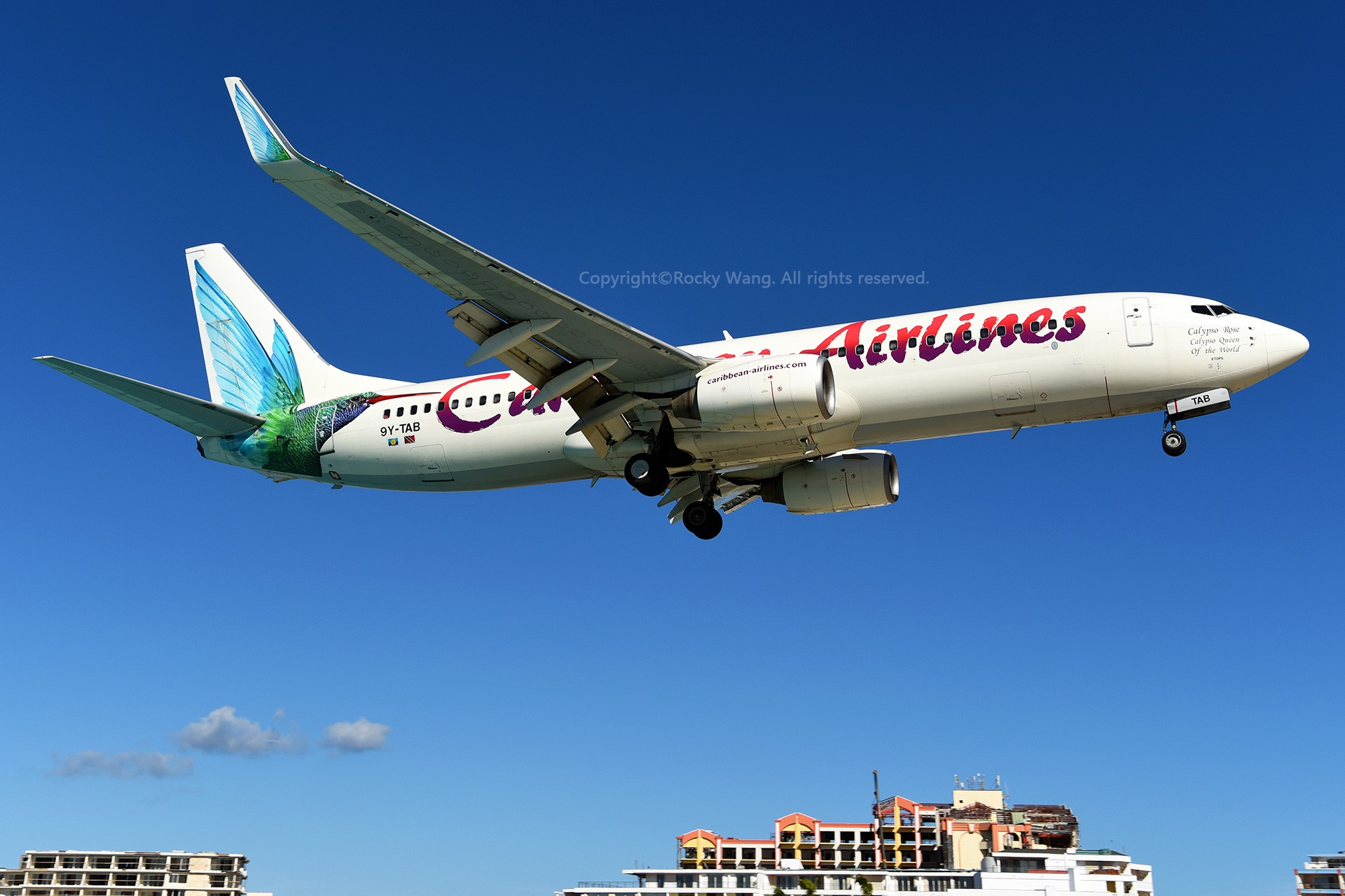 Re:[原创]My endless Caribbean dream——圣马丁朱莉安娜公主机场拍机记 BOEING 737-8Q8 9Y-TAB 荷属安的列斯群岛朱利安娜公主机场