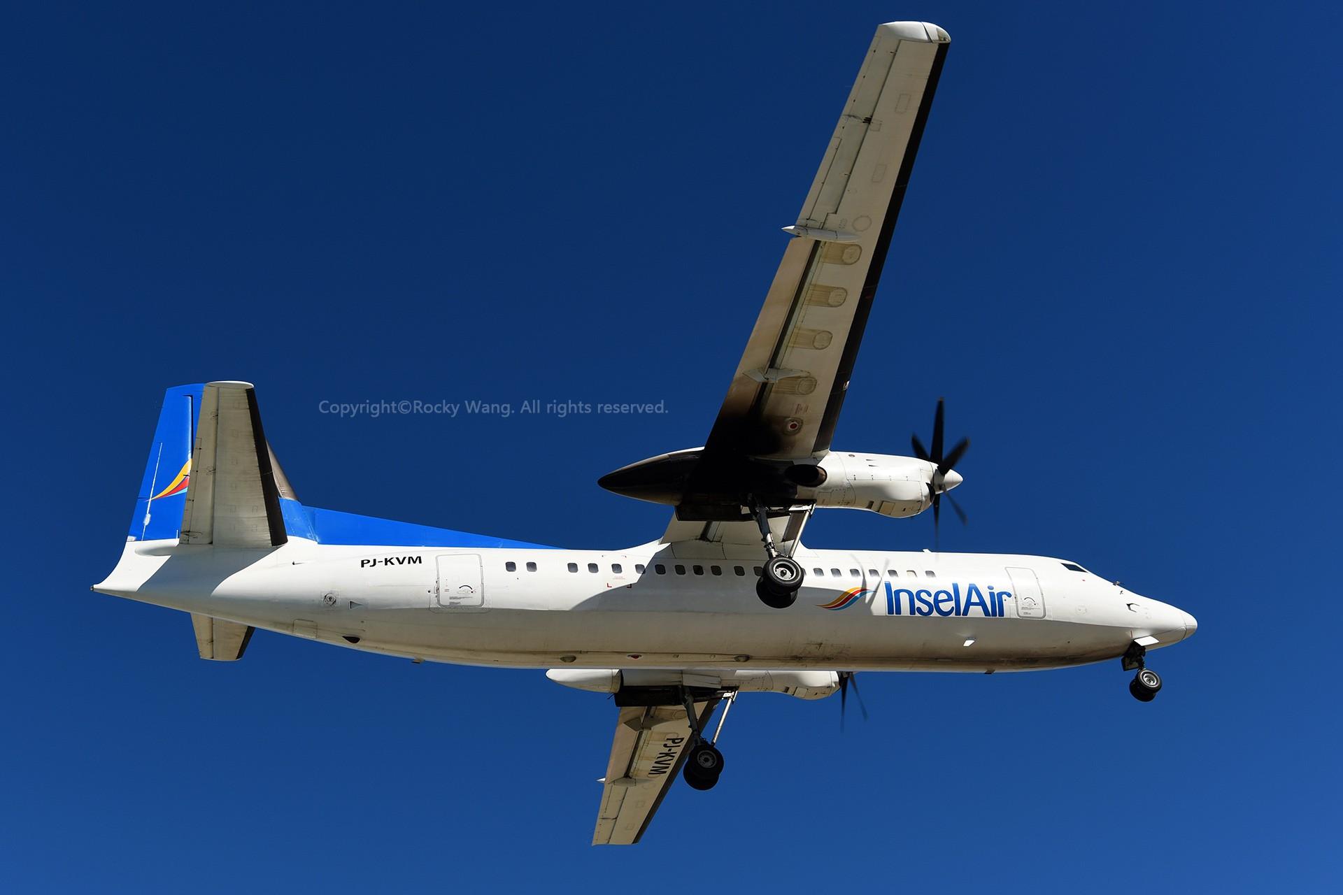 Re:[原创]My endless Caribbean dream——圣马丁朱莉安娜公主机场拍机记 FOKKER 50 PJ-KVM 荷属安的列斯群岛朱利安娜公主机场