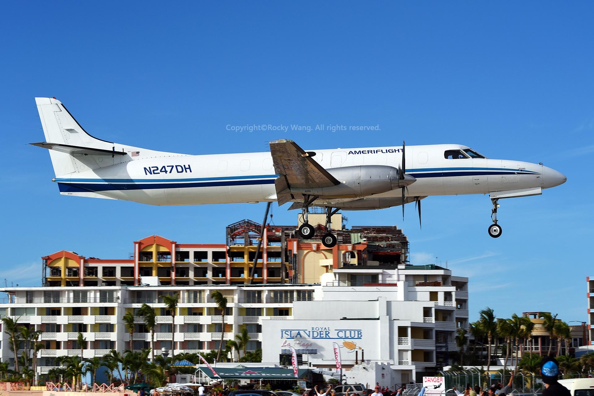 Re:[原创]My endless Caribbean dream——圣马丁朱莉安娜公主机场拍机记 FAIRCHILD SA227-AT EXPEDITER N247DH 荷属安的列斯群岛朱利安娜公主机场