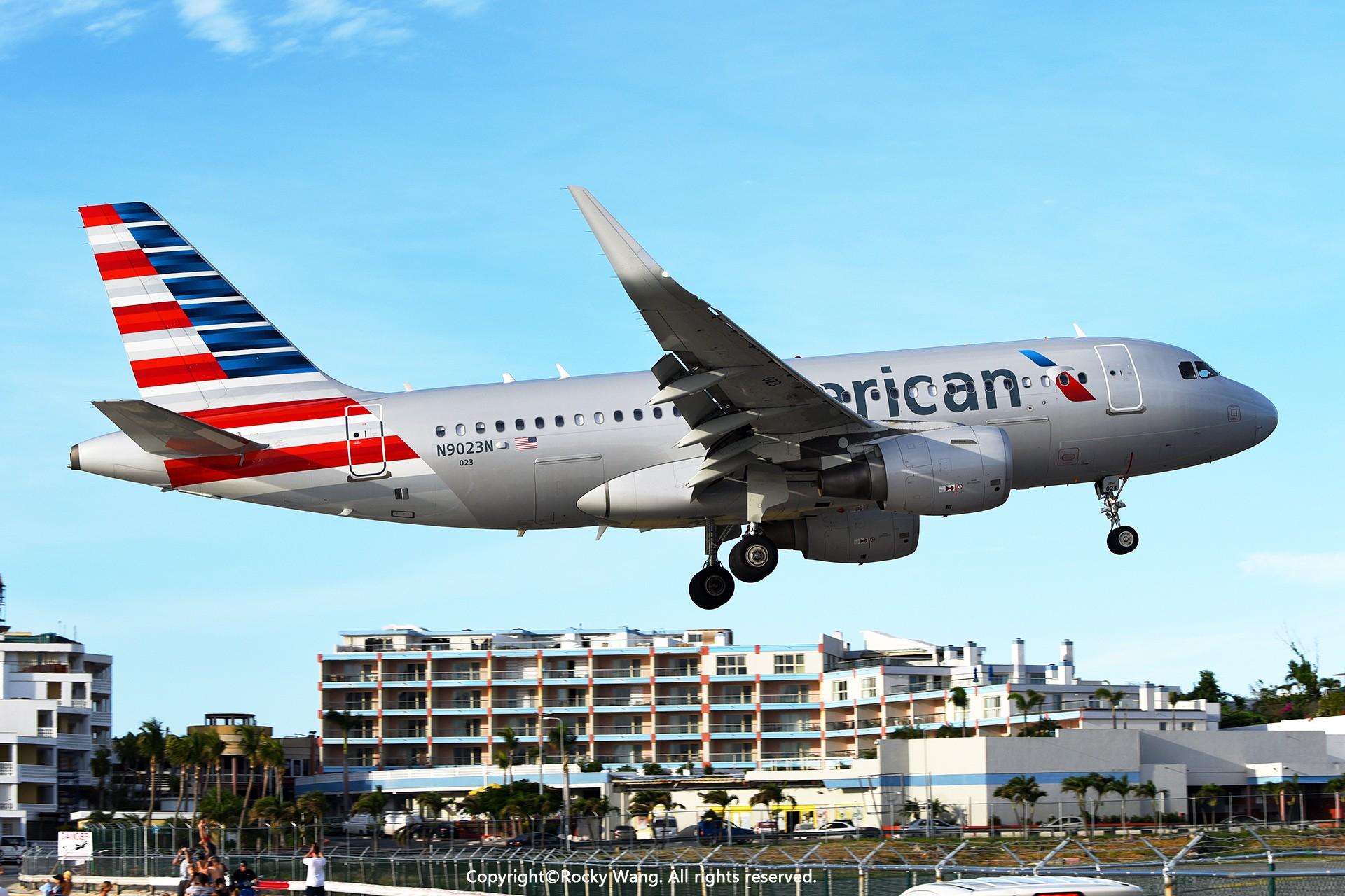 Re:[原创]My endless Caribbean dream——圣马丁朱莉安娜公主机场拍机记 AIRBUS A319-115 N9023N 荷属安的列斯群岛朱利安娜公主机场