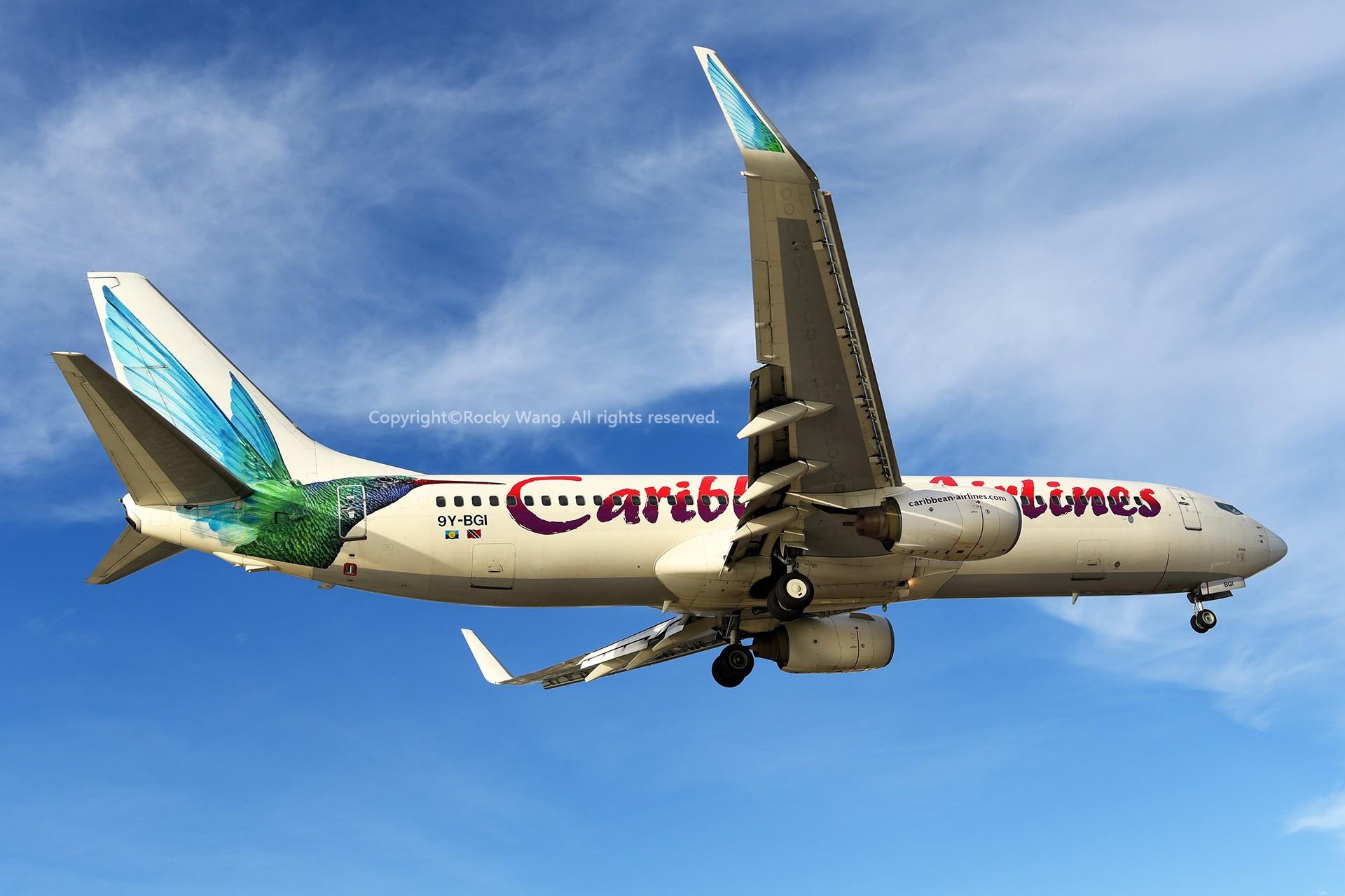 Re:[原创]My endless Caribbean dream——圣马丁朱莉安娜公主机场拍机记 BOEING 737-8Q8 9Y-BGI 荷属安的列斯群岛朱利安娜公主机场