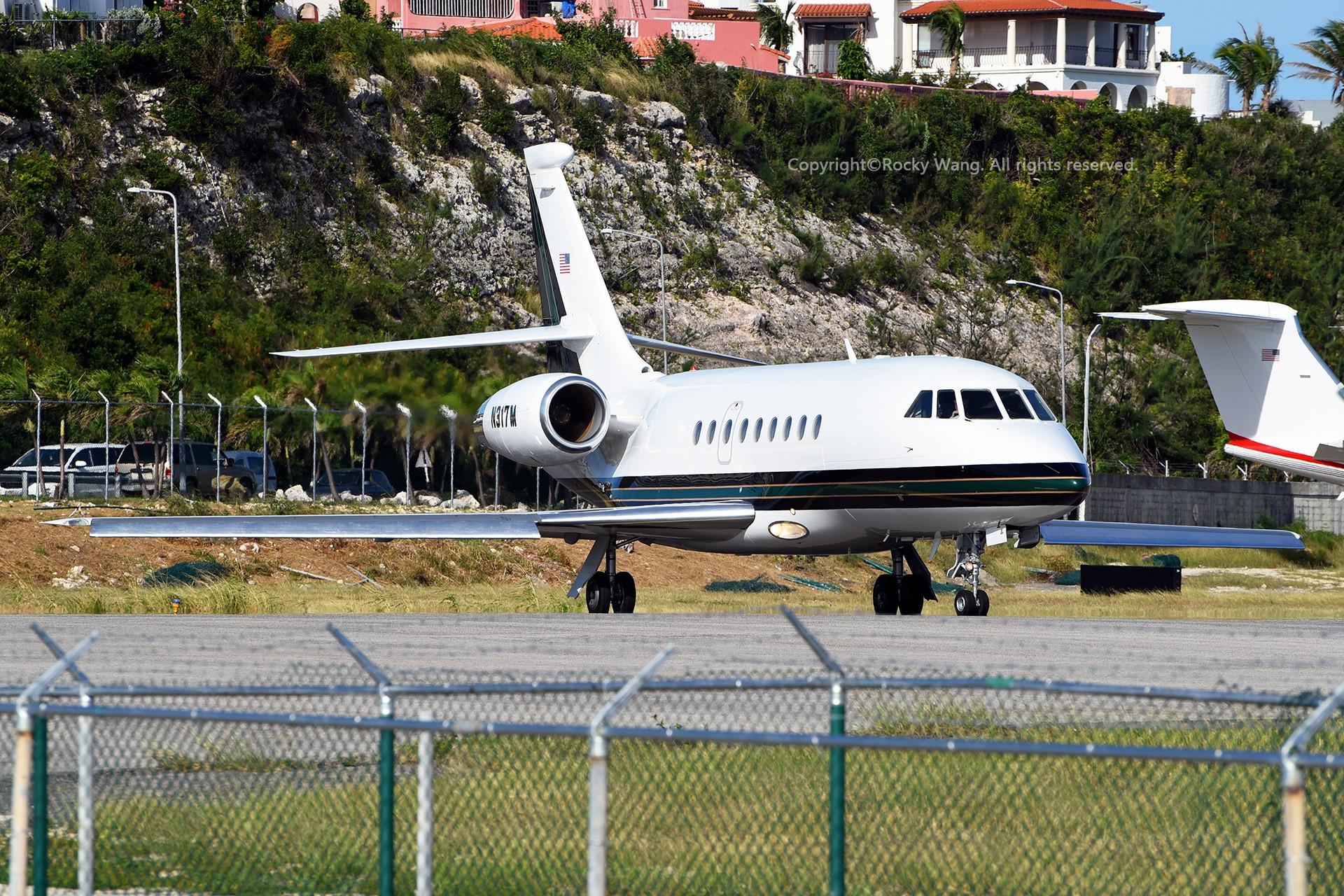 Re:[原创]My endless Caribbean dream——圣马丁朱莉安娜公主机场拍机记 DASSAULT FALCON 2000 N317M 荷属安的列斯群岛朱利安娜公主机场