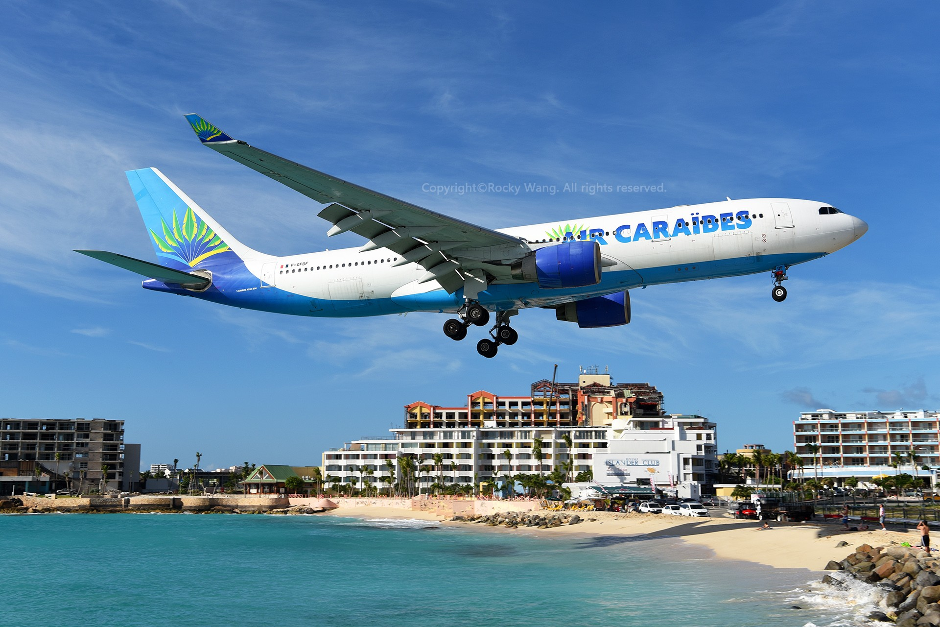 Re:[原创]My endless Caribbean dream——圣马丁朱莉安娜公主机场拍机记 AIRBUS A330-223 F-OFDF 荷属安的列斯群岛朱利安娜公主机场