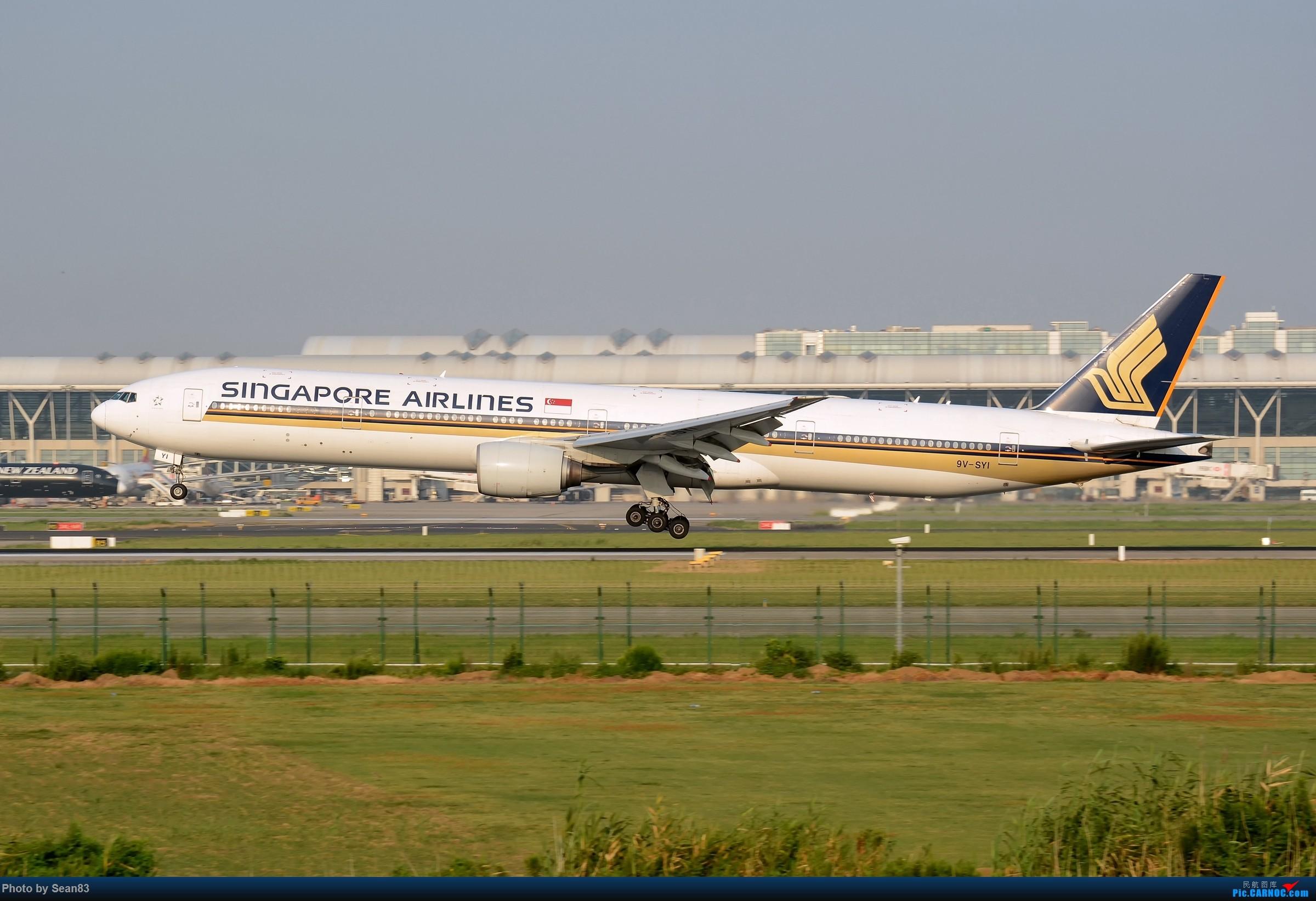 Re:[原创](PVG)SQ BOEING 777-300 9V-SYI 中国上海浦东国际机场