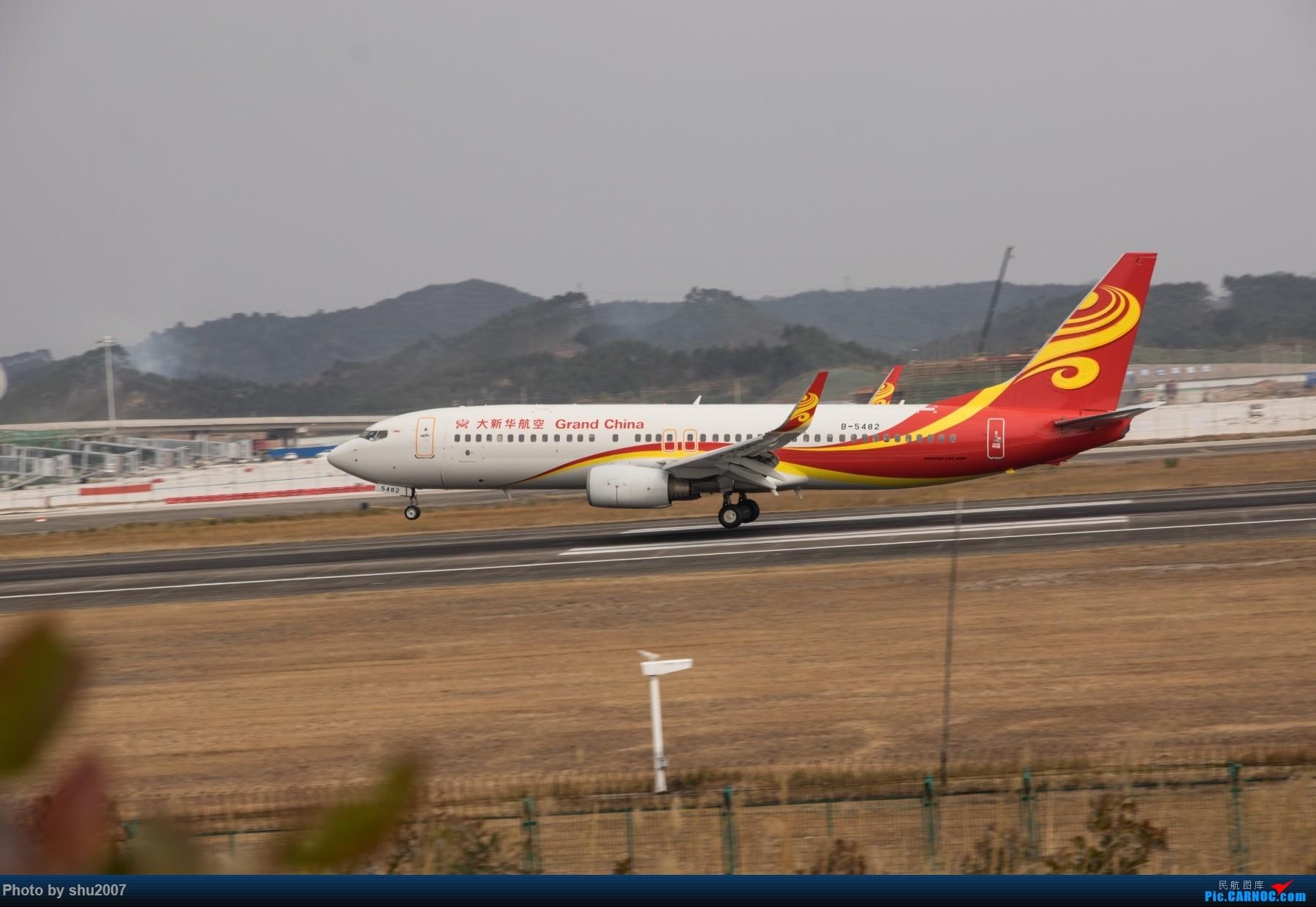 Re:[原创]发些桂林机场 BOEING 737-800 B-5482 中国桂林两江国际机场