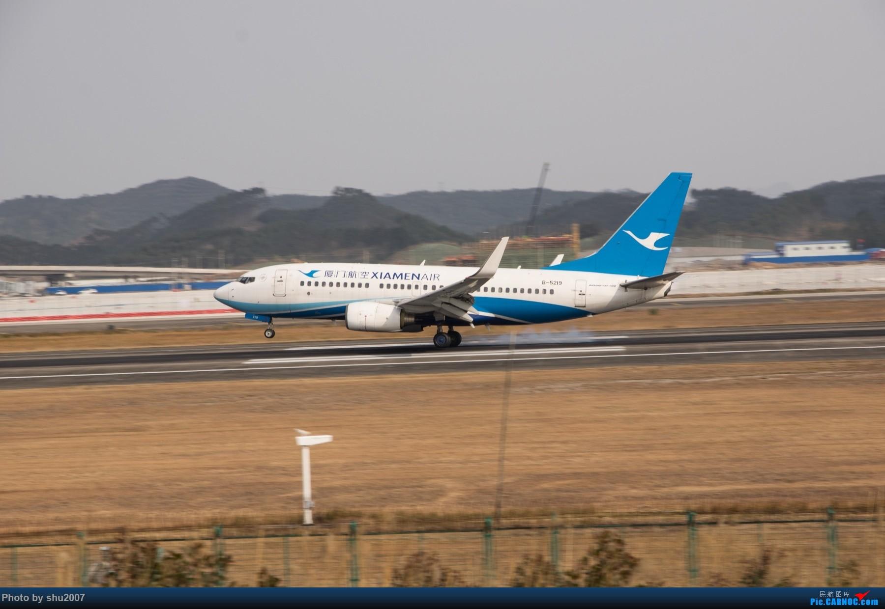 Re:[原创]发些桂林机场 BOEING 737-700 B-5219 中国桂林两江国际机场